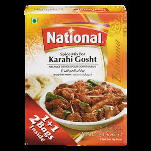 Karahi Gosht Spice Mix (100 g) - National