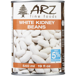 White Kidney Beans (540 mL) - Arz
