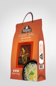 10 lb Parboiled Golden Sella Basmati Rice - Rayan