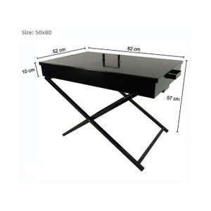 Portable Folding Charcoal BBQ Grill Camping Steel Frame Large Size