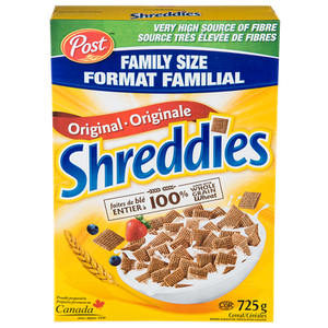 Family Size Cereal (725 g) - POST SHREDDIES