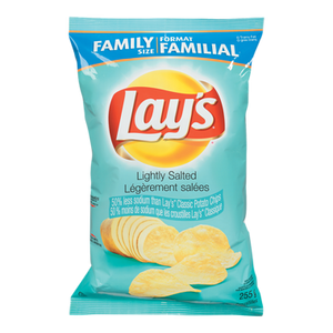 Potato Chips, Lightly Salted (255 g) - LAY'S