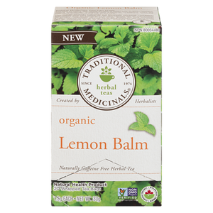 Lemon Balm Tea (20 ea) - TRADITIONAL MEDICINALS