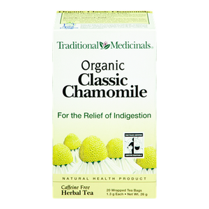 Organic Classic Chamomile Herbal Tea (20 ea) - TRADITIONAL MEDICINALS