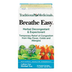 Breathe Easy Herbal Tea (20 ea) - TRADITIONAL MEDICINALS
