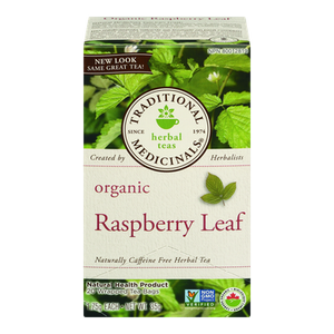 Organic Raspberry Leaf Herbal Tea (20 ea) - TRADITIONAL MEDICINALS
