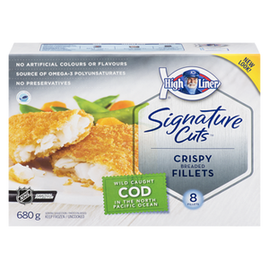 Signature Breaded Cod Fillets (680 g) - High liner