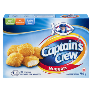 Captain's Crew Breaded Fish Nuggets (750 g) - High liner