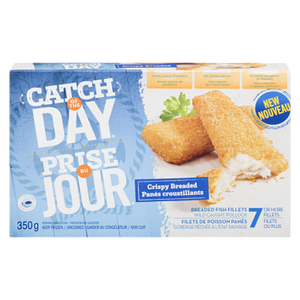 Crispy Breaded Fish Fillets (350 g) - High liner