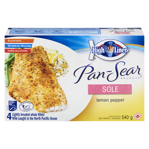 Pan Sear Selects Sole, Lemon Pepper (540 g) - High liner