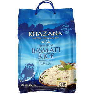 The Treasure Basmati Rice Premium 10 lb - Khazana