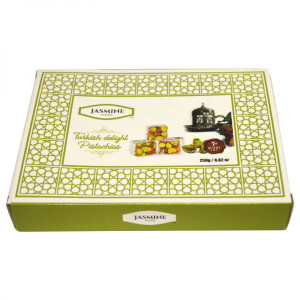 Turkish Delight with Pistachios 250 gr - Jasmine