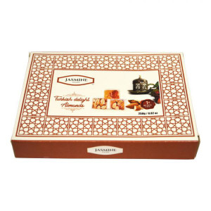 Turkish Delight with Almond 250 gr - Jasmine