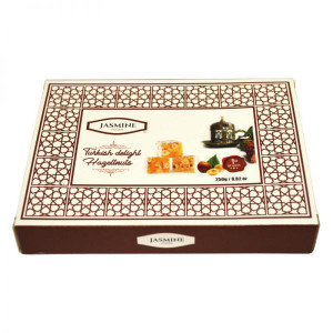 Turkish Delight with Hazelnuts 250 gr - Jasmine
