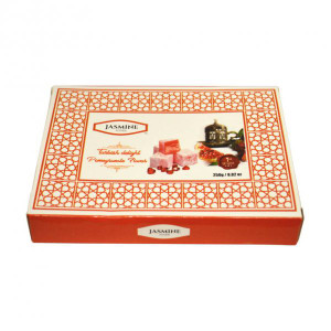 Pomegranate Turkish Delight 250 gr - Jasmine
