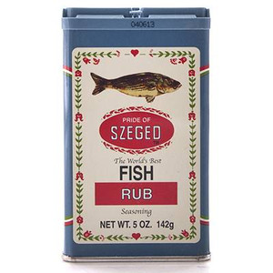 Fish Rub Seasoning 5 OZ - SZEGEO