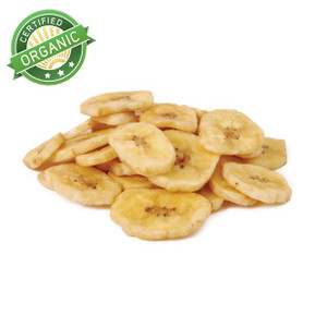Organic Sweetened Banana Chips (1/2 lb)