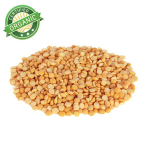 Organic Yellow Split Peas 1lb