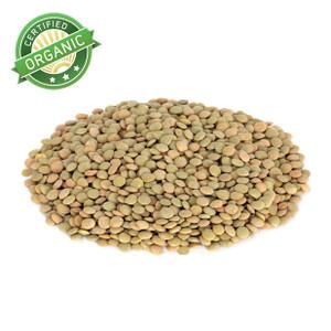 Organic Green Lentils 1lb