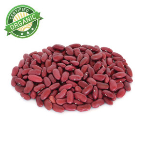 Organic Dark Red Kidney Beans 1lb