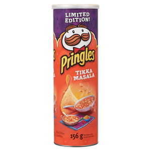 Chips, Tikka Masala Chips (156 g) - PRINGLES