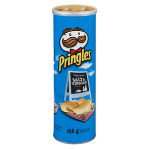 Crisps, Salt & Vinegar Chips (156 g) - PRINGLES