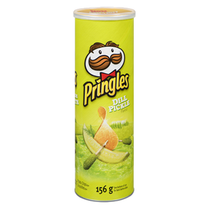 Crisps, Dill Pickle Chips (156 g) - PRINGLES