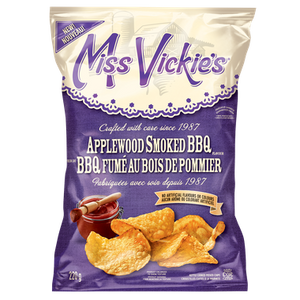 Applewood Smoked BBQ Chips (220 g) - MISS VICKIE'S