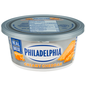 Soft Cream Cheese, Creamy Cheddar (227 g) - Philadelphia