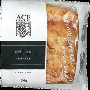 Ciabatta (454 g) - ACE BAKERY