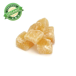 Organic Diced Ginger 8-16 mm (1/2 lb)