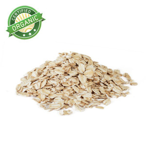 Organic Regular Rolled Oats Gluten Free 1lb