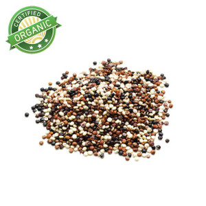 3 Color Organic Mixed Quinoa 1lb