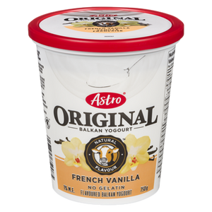 Original Balkan Style Yogurt, French Vanilla (750 g)