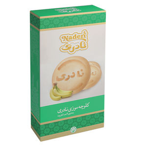Banana Cookie 4 Pcs - Naderi