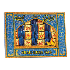 Gaz Shahreza ( Nougat ) with 28% Pistachio 400 gr - Meraj