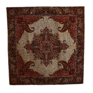 "Termeh Square Tablecloth Soraya (38"" x 38"")"