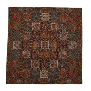 "Termeh Square Tablecloth Farah (38"" x 38"")"