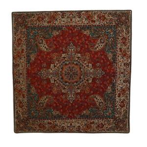 "Termeh Square Tablecloth Homa (38"" x 38"")"