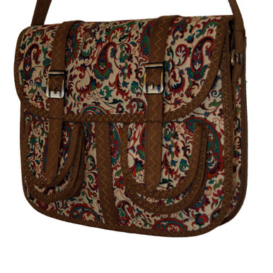 Termeh Handcrafted Purse (Spring)