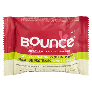 Apple Cinnamon Protein Punch Ball (42 g) - BOUNCE