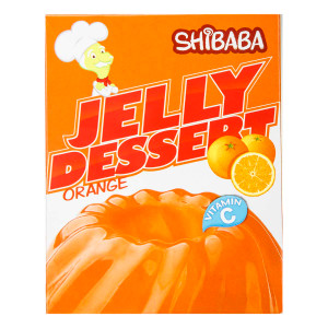 Jelly Powder Orange 100 g - Shibaba