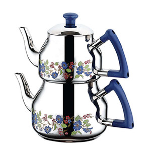 Stainless Steel Teapot and Kettle Set K-317 - Ozkent