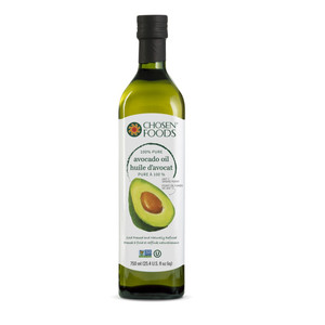 100% Pure Avocado Oil 750 ml - Chosen Foods