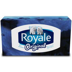 2-Ply Facial Tissue ( 100 sheets per box) - ROYALE® Original