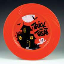 "6.5"" TruColor Halloween Plate"