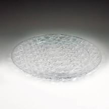 """Crystal Cut 13"""" Round Tray"""