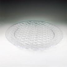 """Crystal Cut 16"""" Round Tray"""