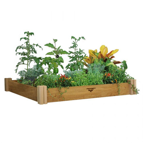 Modular Raised Garden Bed 48x48x6.5 - One Level