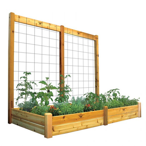 "Raised Gdn Bed with Trellis Kit 48x95x80 - 10""D"